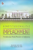 Konstitusionalitas Impeachment – Presiden dan Wakil Presiden di Indonesia