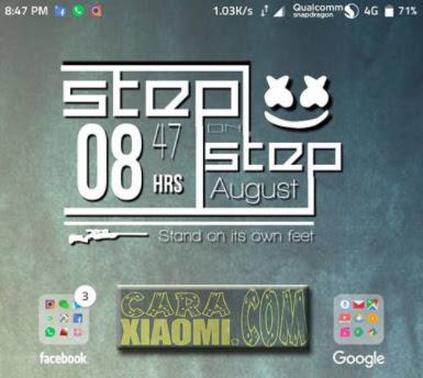 Tutorial Cara Pasang Menerapkan Widget ZW di Zooper Widget Android dan Xiaomi