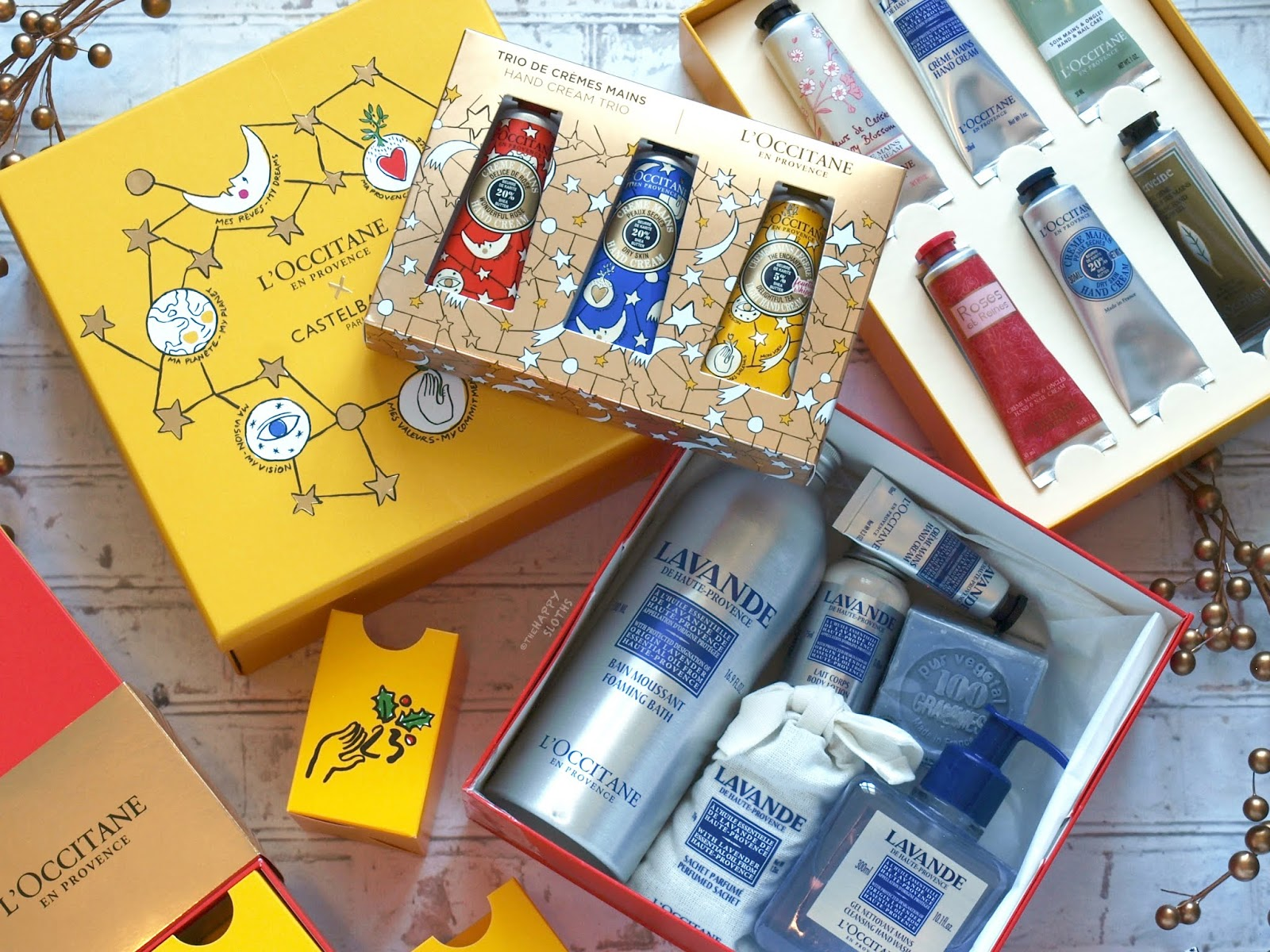 L'Occitane x Castelbajac Holiday 2018 Collection: Gift Guide