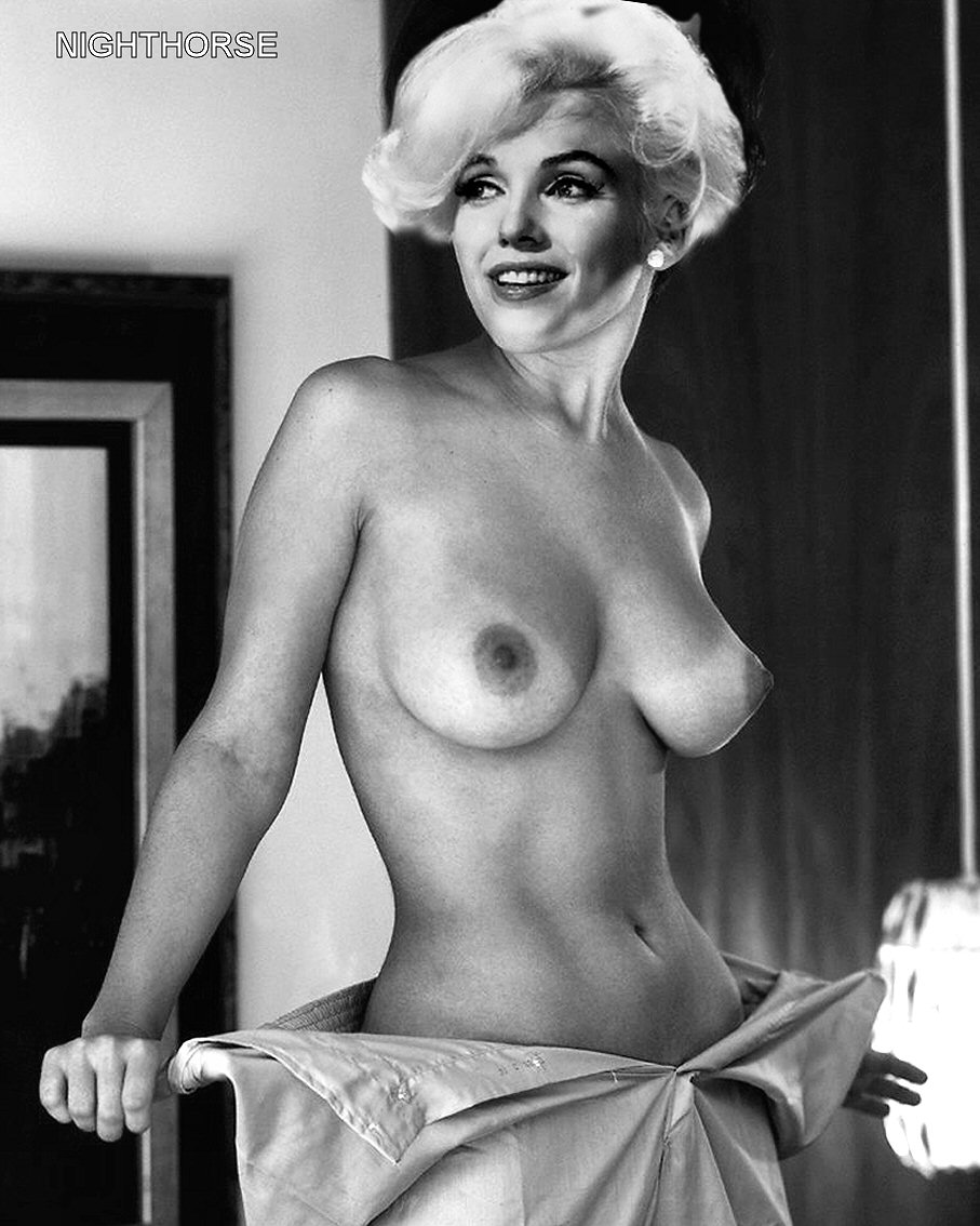 Naked Celebrity Girls Marilyn Monroe-4564
