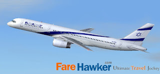 Israel Airlines; reasonable rates for FareHawker