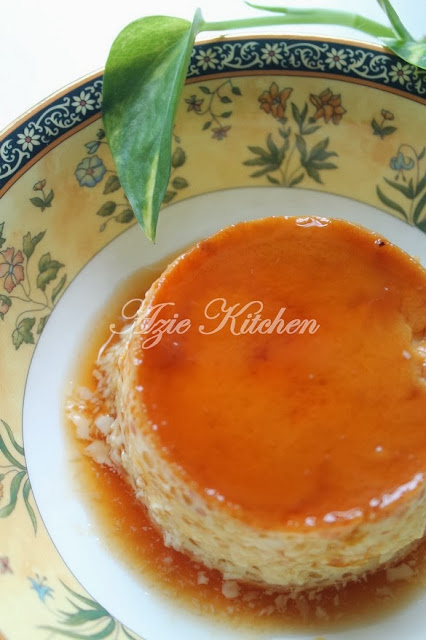 Puding Karamel Azie Kitchen