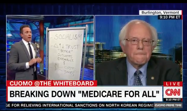BERNIE SANDERS ON SINGLE PAYER HEALTH CARE: 'THERE WILL BE PAIN'--'You got to deal with that pain'