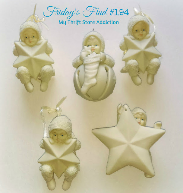 vintage retired Snowbabies ornaments