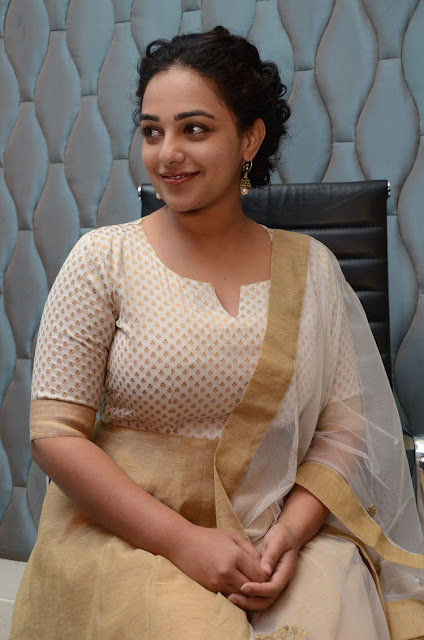 Nithya menen at 100 days of love press meet