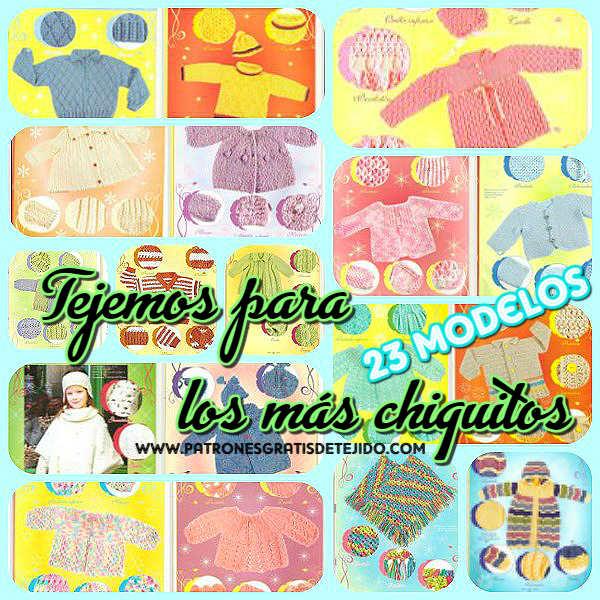 23 Prendas para Bebés y Niños / Revista en Español | Crochet y Dos ...