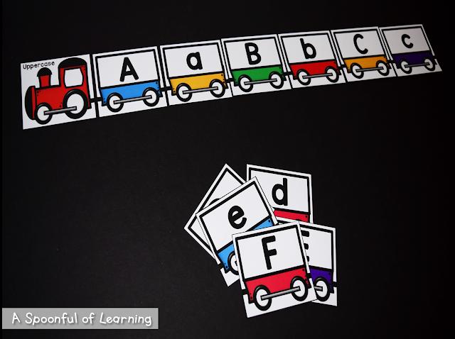 Alphabet Center Activities 6