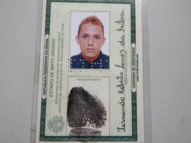 PM prende Fernando Lemes da Silva suspeito de tráfico de drogas em Tangará da Serra