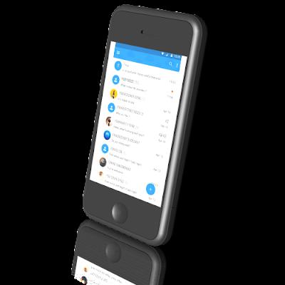 KK SMS aplikasi sms android gratis terbaik terkeren