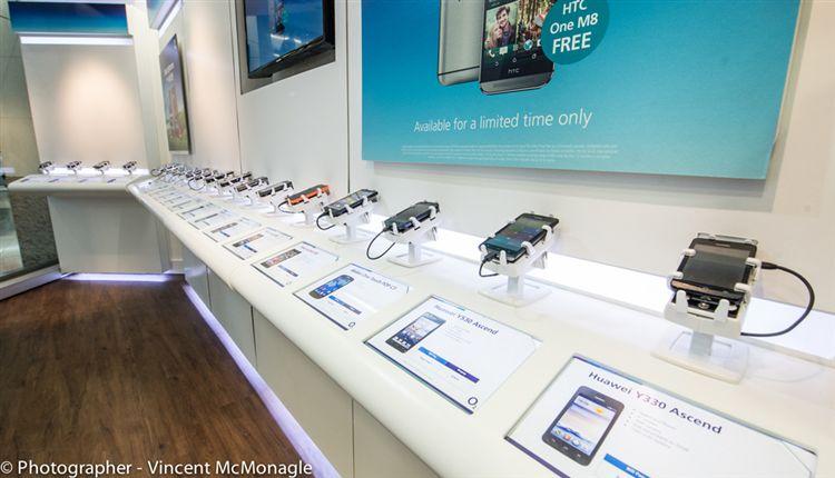 手機防盜,智慧手機防盜,手機防盜展示架,中華電信,遠傳電信,台灣大哥大