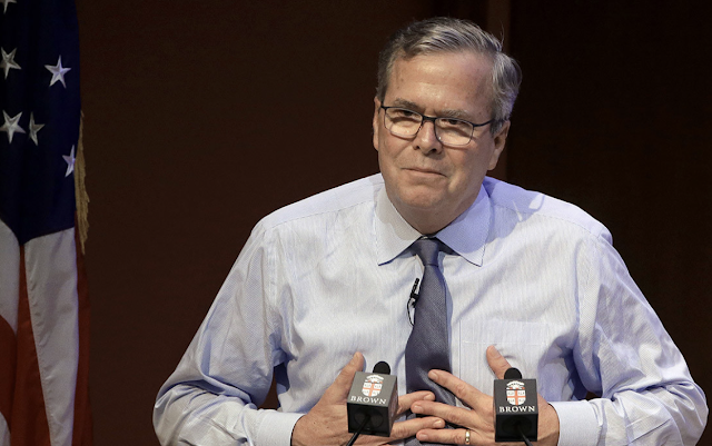 Jeb Bush says a Republican should run against Trump in 2020