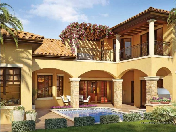 Mediterranean House Plans DHSW53146 House Building Plans