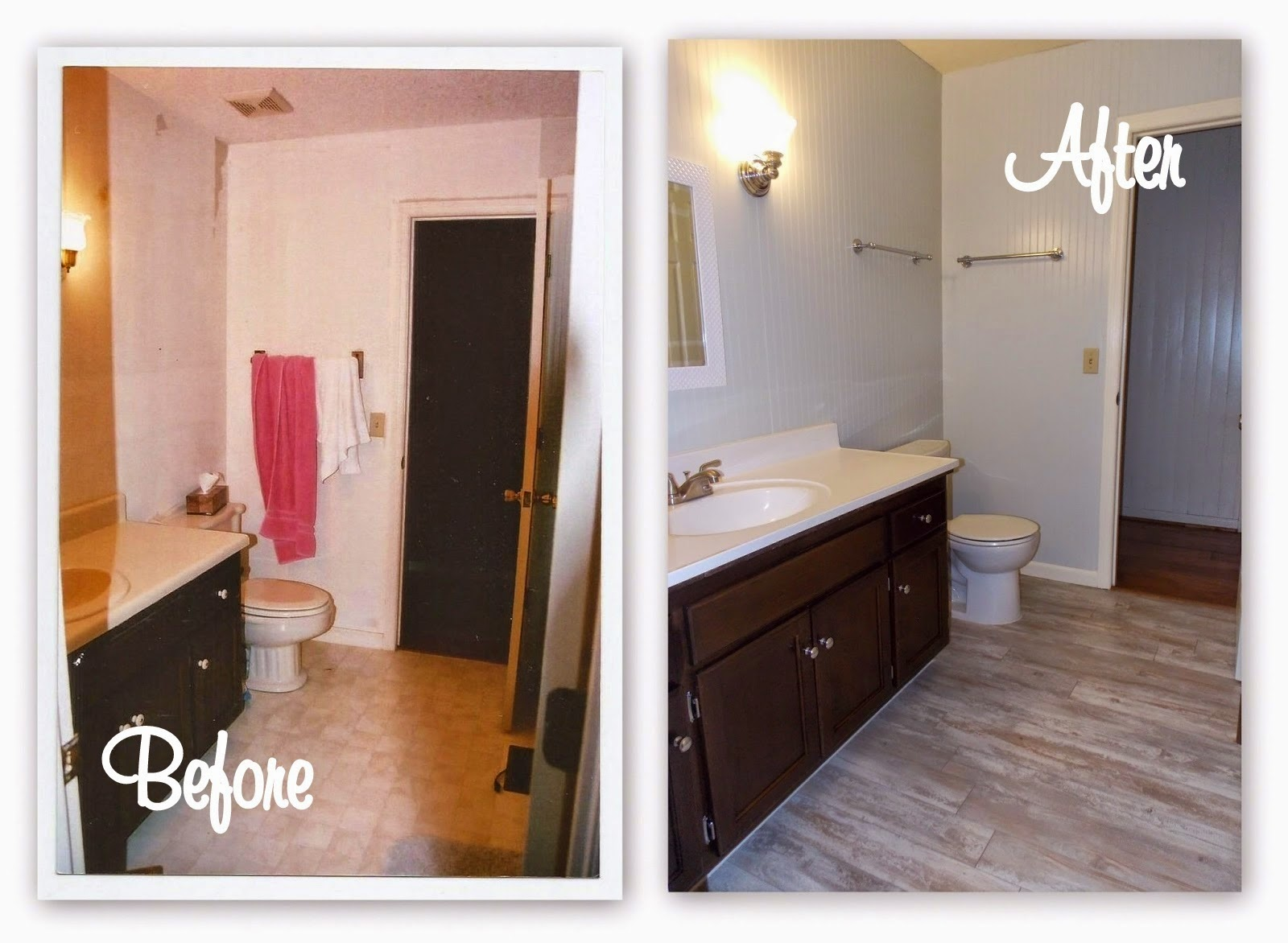 How To Paint Kitchen Cabinets Without Streaks Home Sweet Home With Holly Bathroom Makeover On A Budget