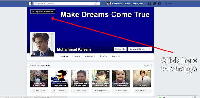 Facebook Cover Photo  Change again - Facebbok