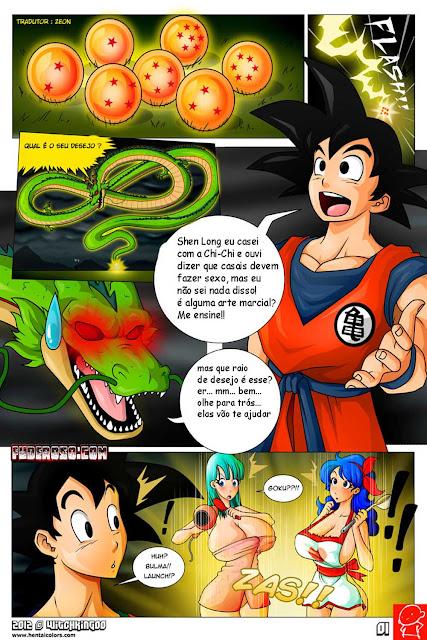 Dragon Ball hentai - Aula de Sexo