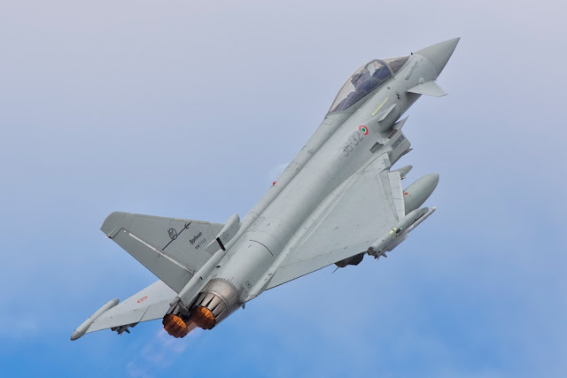 Eurofighter fighter jet scramle intercept