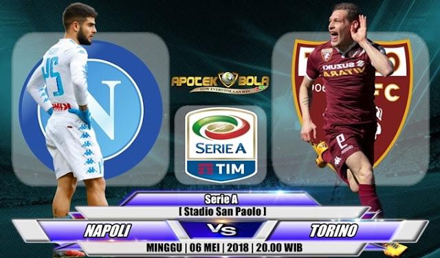 Prediksi Napoli vs Torino 06 Mei 2018