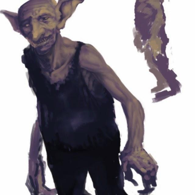 goblin, mad goblin, madgoblins artbook, art of Douglas Deri, douglas deri, fantasy, sci-fi, book, livro, illustration, ilustracao, how to paint, photoshop brushes, brushes, how to draw, como desenhar,
