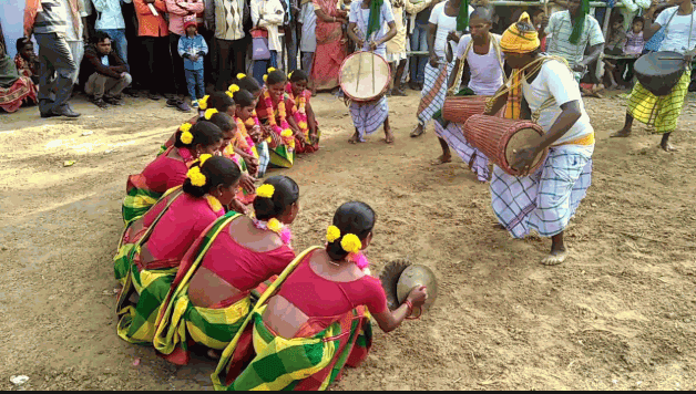 Santali Langre dance