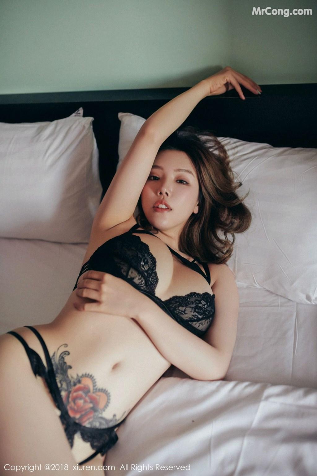 Image XIUREN-No.1200-Huang-Le-Ran-MrCong.com-003 in post XIUREN No.1200: Người mẫu Huang Le Ran (黄楽然) (54 ảnh)