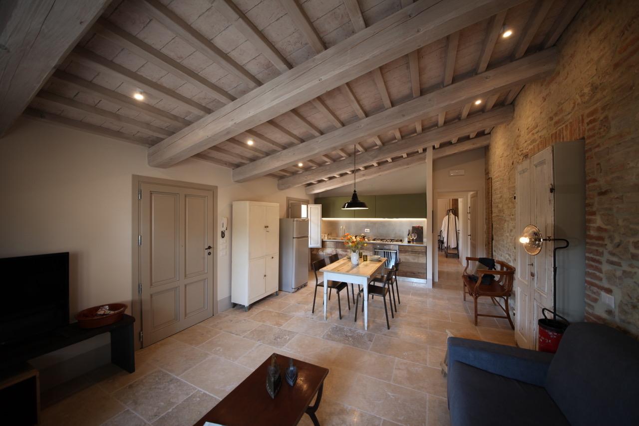 Ristrutturazione appartamento in un vecchio podere toscano
