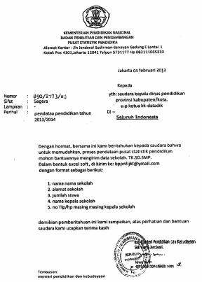 contoh surat edaran bakti sosial surat 35