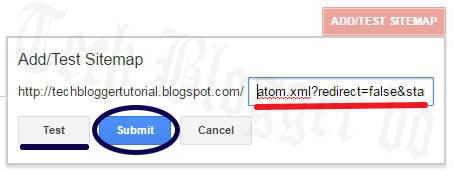 how to submit blogger sitemap to google search console tech blogger bd