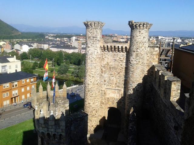 Castillo Templario de Ponferrada, torre