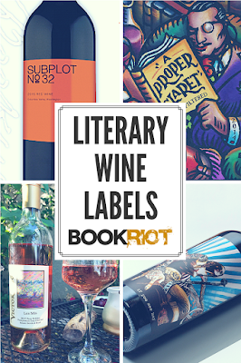 literary wine labels