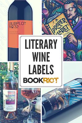 literary wine labels