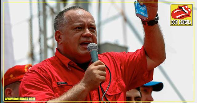 Diosdado amenaza con un enorme derramamiento de sangre en la frontera si la ayuda pasa