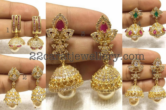 Jhumkas Collection 1200 Rupees