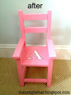 doll chair after