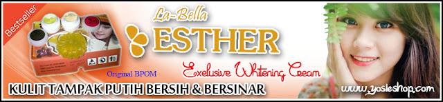 Paket Perawatan Wajah Krim Esther BPOM - Kulit Tampak Putih Bersih dan Bersinar (Exelusiv Whitening Cream)