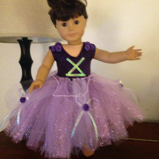 Disney-Inspired Doll Tutu's