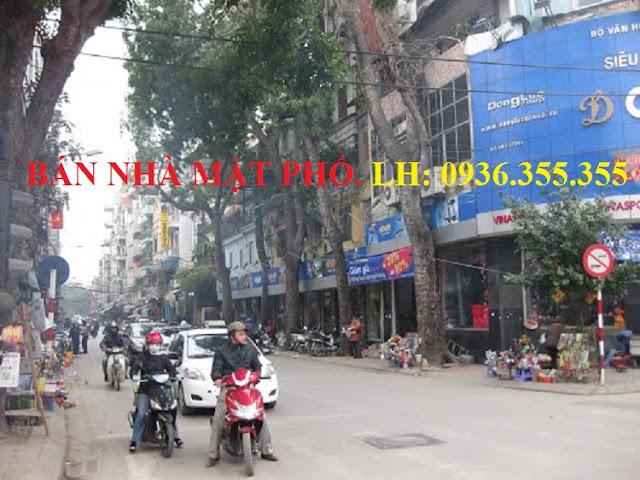 Bán nhà mặt phố Cát Linh, Giảng Võ