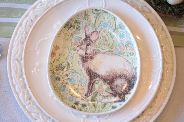 classic easter tablescape pottery barn bunny plates pastels gorgeous white charger