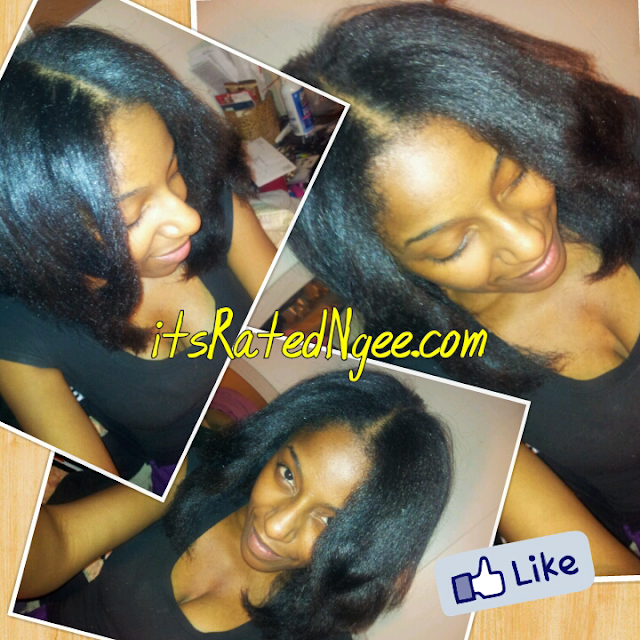 straightening type 4 natural hair
