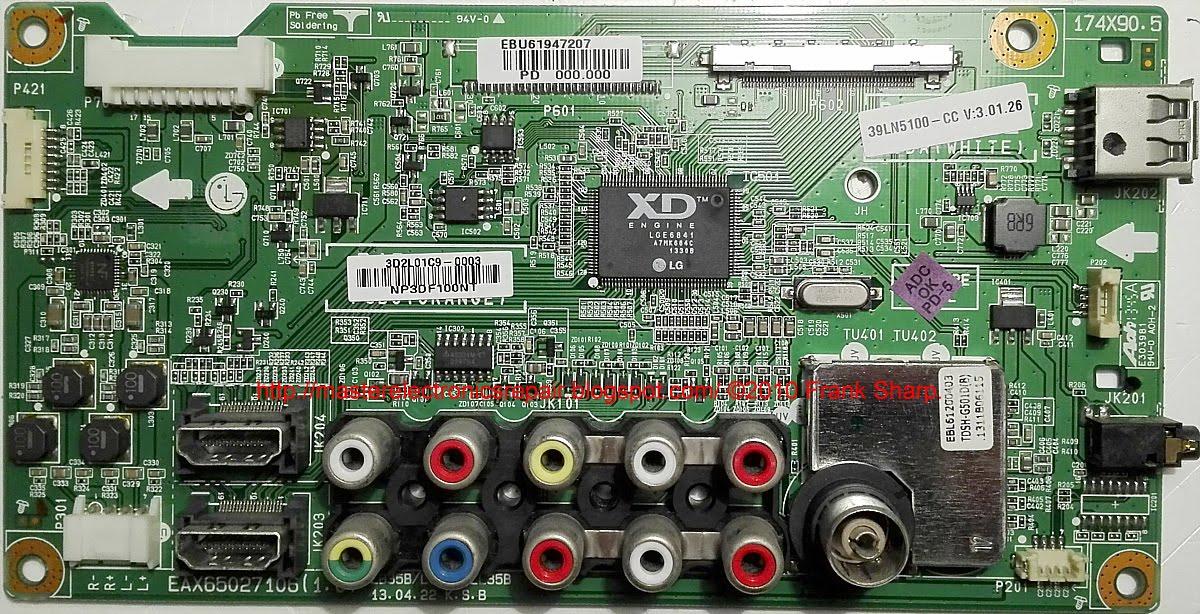 Master Electronics Repair !: REPAIR / SERVICING TV LG 39LN5100