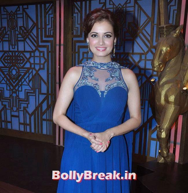 Dia Mirza, Vidya Balan & Dia Mirza in Punjabi Suits Promote Bobby Jasoos on Entertainment Ke Liye Kuch Bhi Karega