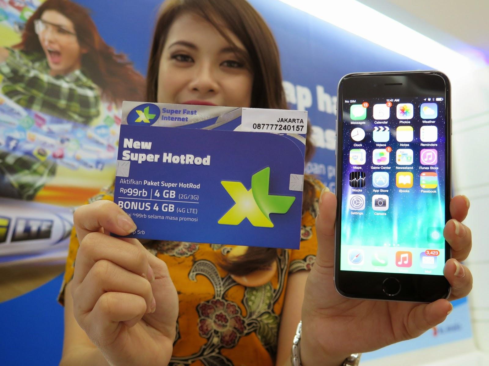 XL Siapkan Bundling Iphone 6 dan Iphone 6 Plus
