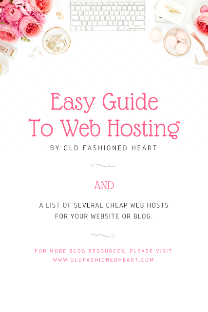 Easy Guide To Web Hosting AND My List Of Cheap Web Hosts + Domains