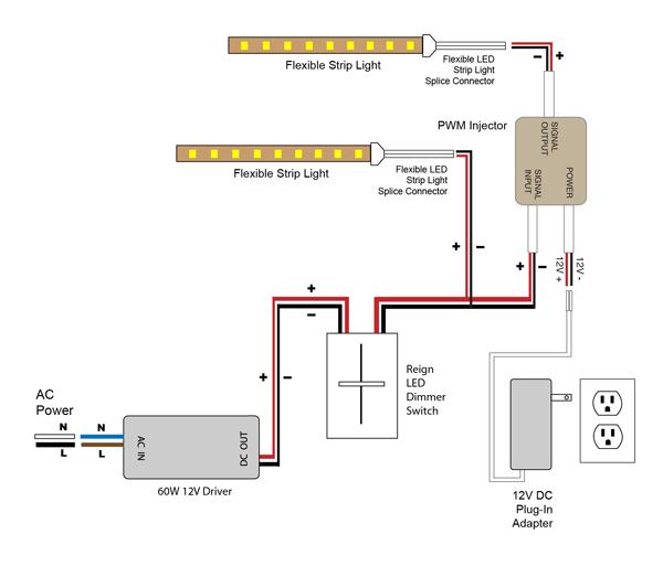 10v Dimmer Wiring Diagram Schematic Vlightdeco Trading Led Wiring Diagrams For 12v Led Lighting
