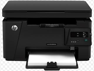HP LaserJet pro-M125a ist Multifunktions-Tools von HP, die einen Drucker, Bild Kopierer sowie Scanner kombinieren.