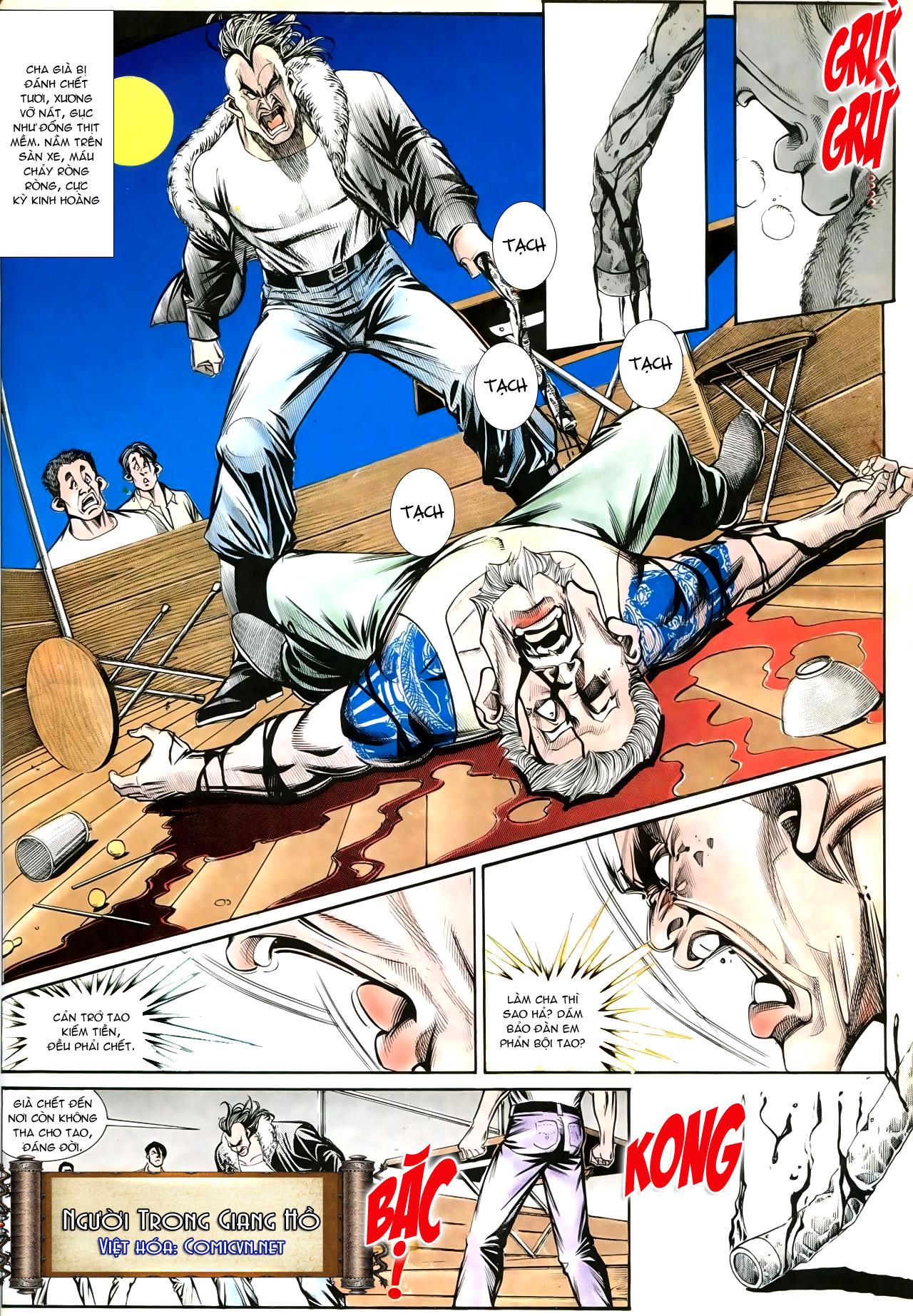 Người Trong Giang Hồ chapter 192: bá khí trúc liên bang trang 25