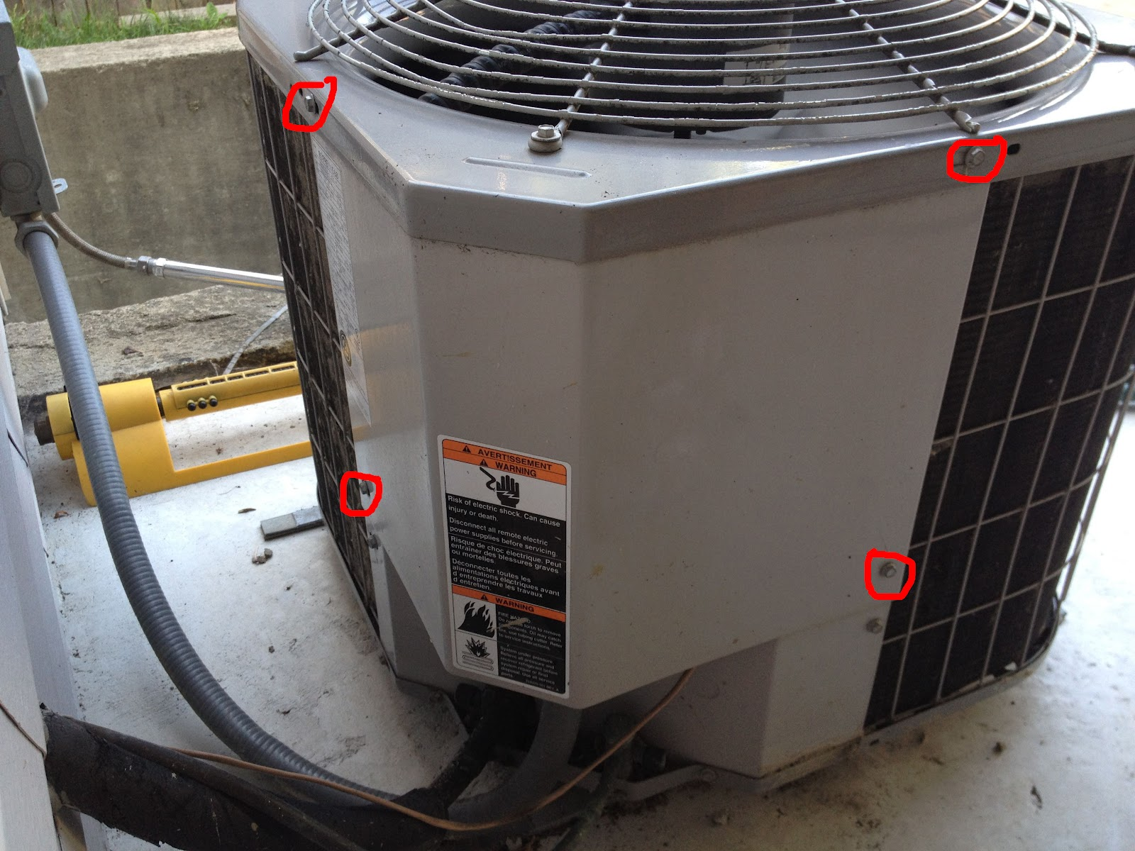 Capacitor for trane xr12 28 images question about for Hvac motor replacement cost