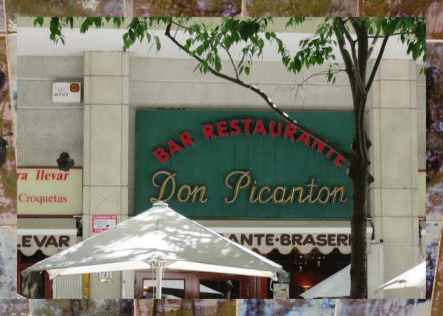 Bar Restaurante Bar Picanton - neon sign in Barcelona