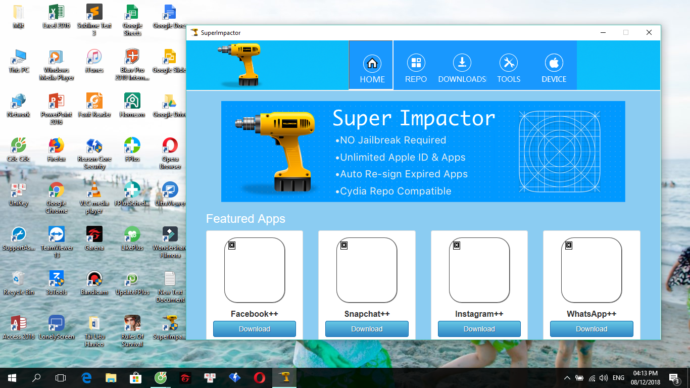Super Impactor có thể sẽ thay thế cho Cydia Impactor dành