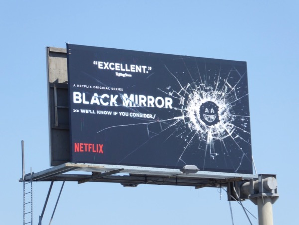 Black Mirror 2017 Emmy billboard