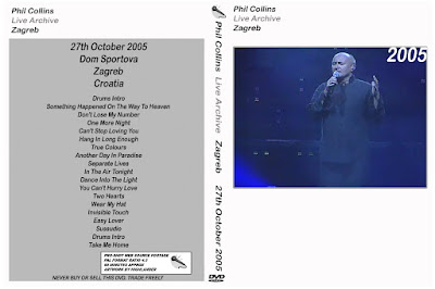 Phil Collins - 2005-10-27 - Zagreb, Croatia (pro-shot)